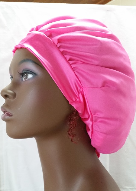 100% Silk Charmeuse Hair Bonnet