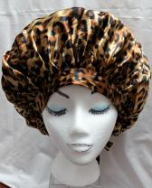 Leopard Print with Plain Front