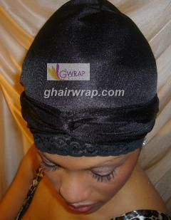 Original Nylon G-Wrap With Stretch Lace Front