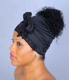 Results Open Hair Scarf with Stretch Lace Front